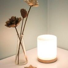 Lámpara de mesa de madera Vintage con luz moderna, lámpara Industrial japonesa, lámpara de mesa, accesorios de iluminación de unión