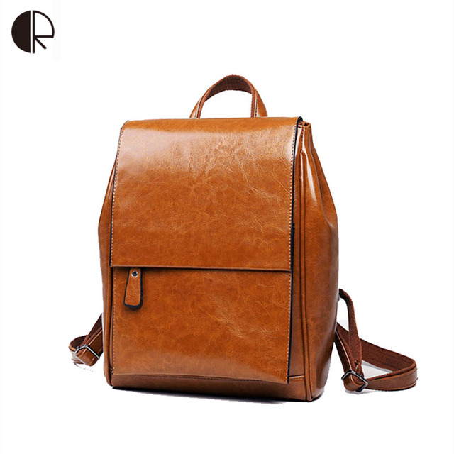 Aliexpress.com : Buy Fashion Backpack Women Backpacks Solid ...