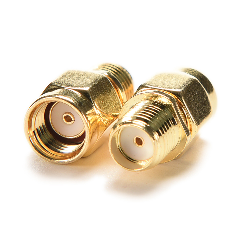 Coaxial Coax Adapter SMA Female Jack to RP-SMA Male Jack Center RF Coaxial Adapter Connector