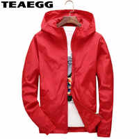 TEAEGG Casual Trench Coat Para As mulheres 2019 Autumn Red Trenchcoat Outwear Women's Windbreaker Plus Size 5XL 6XL 7XL AL60
