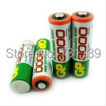 Brand New 2016 0riginal 12pcs/Lot  GP 1.2V NiMh AA 3000 mAh Battery Rechargeable 2A Batteries pilas recargables free shipping