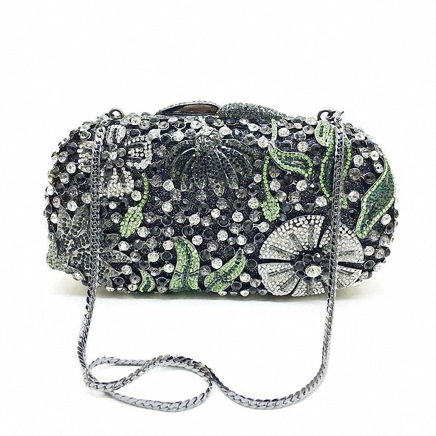 ФОТО Studded Jeweled clutch Wedding Bridal purse Luxury Created Diamond Evening Bags Lady Day Clutch Women Crystal Party Bags LI-1557
