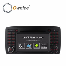 1024*600 Octa Core Android 6.0 For Mercedes Benz R Class W251 R280 R300 R320 R350 R500 Car DVD GPS Radio Stereo Player 4G wifi eunavi octa core android 8 0 car dvd for mercedes benz r class w251 r280 r300 r320 r350 gps radio stereo 4gb ram 32gb rom