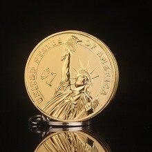 Kreatywny kompaktowy butan zapalniczka brelok zapalniczka napompowany olej gazowy wisiorek moneta jeden dolar metalowy prezent breloczek
