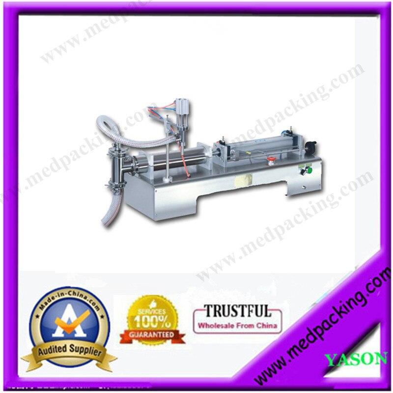 10-300ml Single Head Liquid Softdrink Pneumatic Filling Machine GRIND