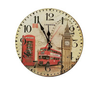 2017 Meeting Room Wall Decor Tower London Big Ben Clock Famous Building Architecture Model Large Wall