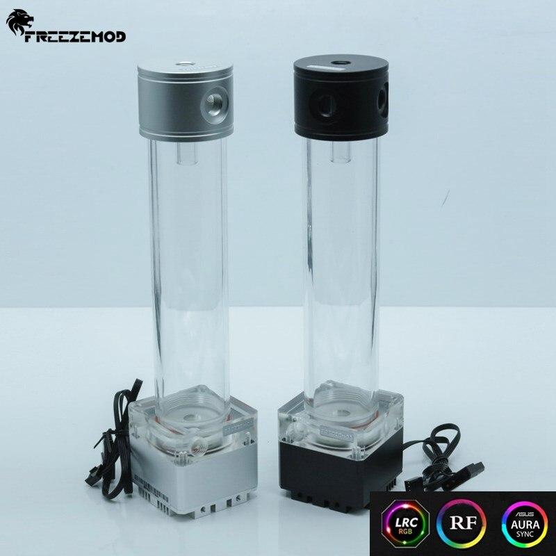 FREEZE MOD pump reservoir kit Aluminum cover RGB control or AURA synchronization PUB FS6MA 29 PUB