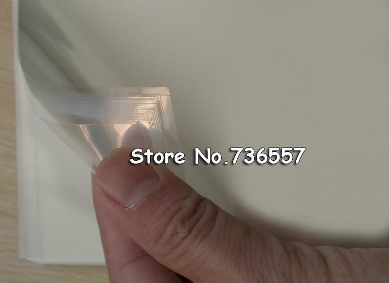 100шт прозрачные пленки прозрачный Размер А4 (297x210mm) лазерный принтер печать матовая пленка прозрачность воды-доказательство PROIEZIONE Стампа