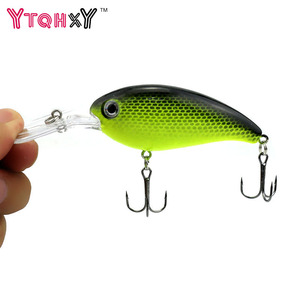 1pcs Crank Fishing Lure Hard Swimbait Pesca 10 Colors Wobbler Isca Artificial 14g 10cm Crankbaits Fishing wobblers WQ195