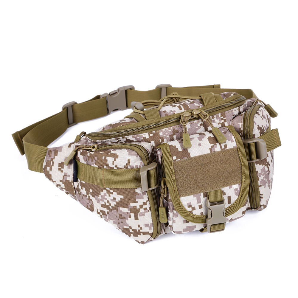 Desert Fox Military Tactical Hunting Molle Waist Packs Airsoft Sports Camping Hiking Survival Waist Bag First Aid Kits