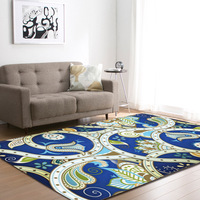 Printed Large Flannel Velvet Carpets for Living Room Large Area Modern Outdoor Floor Rugs Home Decor Kids Play Crawling Mats