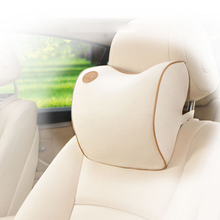 1Pcs New Space Cotton Memory Car Seat Pillow Cushion Headrest Neck Auto Supplies Safety