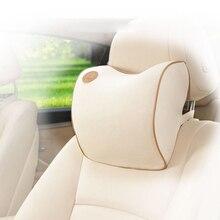 1Pcs New Space Cotton Memory Car Seat Pillow Cushion Headrest Neck Auto Supplies Safety