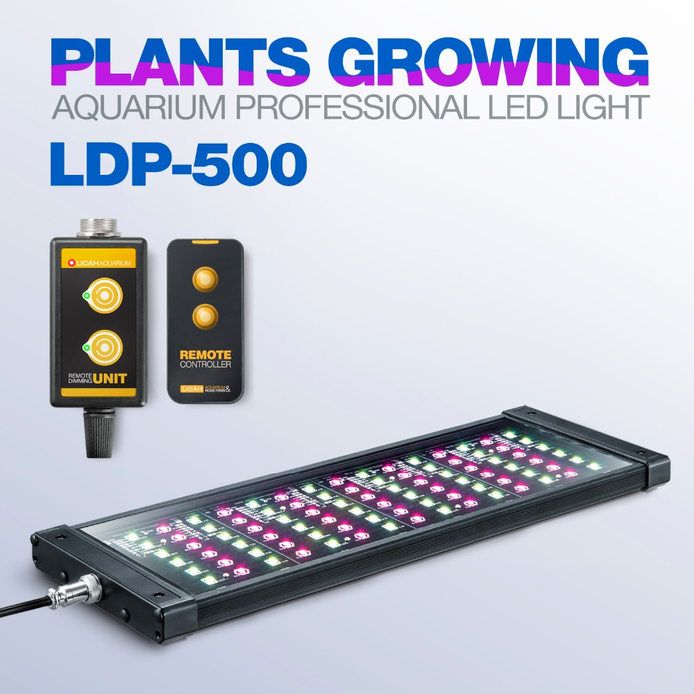 LICAH Fresh Water Aquarium Plant LED LIGHT LDP-500 Free Shpping