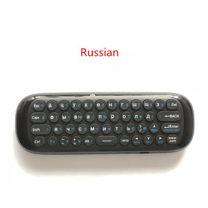Image 2 - Wechip W1 Russian Or English Version 2.4GHz Wireless Keyboard Mini Fly Air Mouse for Smart Android TV Box mini PC HTPC Projector