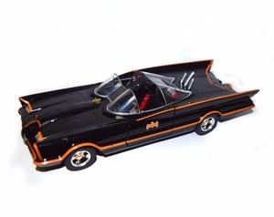 Image 2 - سيارة باتمان باتموبيل الكلاسيكية من جادا 1:24 ، تلفزيون لينكولن فوتورا مع لعبة روبن