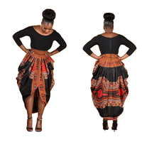 Wholesale African Dresses For Women Dashiki Printed Dresses Women Clothing Long Sleeve For Ladies Plus Size African Clothing