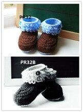 crochet baby booties, baby girl and boy booties,