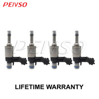 4x LR024998 0261500147 BB5E 9F593 BA Fuel Injector for FORD&LAND ROVER EDGE / ESCAPE /LR2 / DISCOVERY SPORT 2.0L L4 Turbocharged