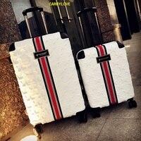 CARRYLOVE бизнес Чемодан 20/24/28 sizeHigh Качество Мода ПК скользящий Чемодан Spinner бренд дорожного чемодана