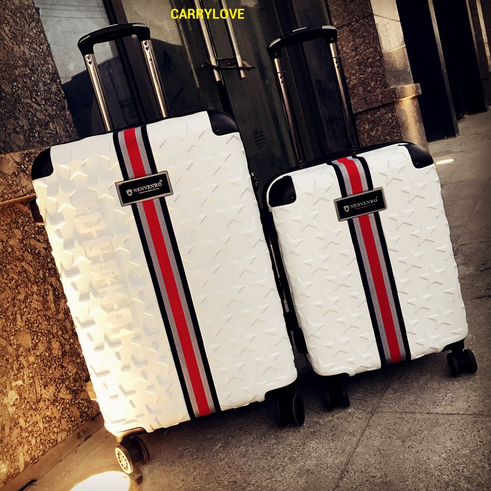 CARRYLOVE Business Luggage 20/24/28 SizeHigh Quality Fashion PC Rolling Luggage Spinner Brand Travel Suitcase