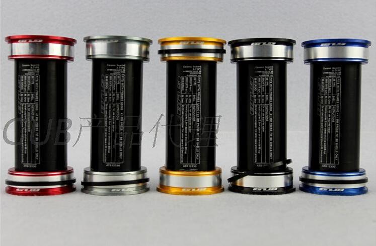 GUB Ceramic Bearing Bottom Bracket BB 92 91 Axis for Shimano аксессуар shimano tl un74 s bottom bracket