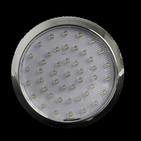 dome lamp 37LED Round Reading Lamp Car Interior Dome Light White Ceiling Lamp for 12V Caravan Van Taxi Motor Home Accessories (5)