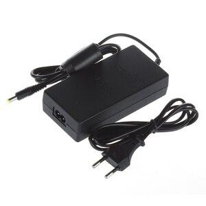 Image 2 - EU 플러그 AC 어댑터 충전기 코드 케이블 전원 PS2 콘솔 슬림 블랙