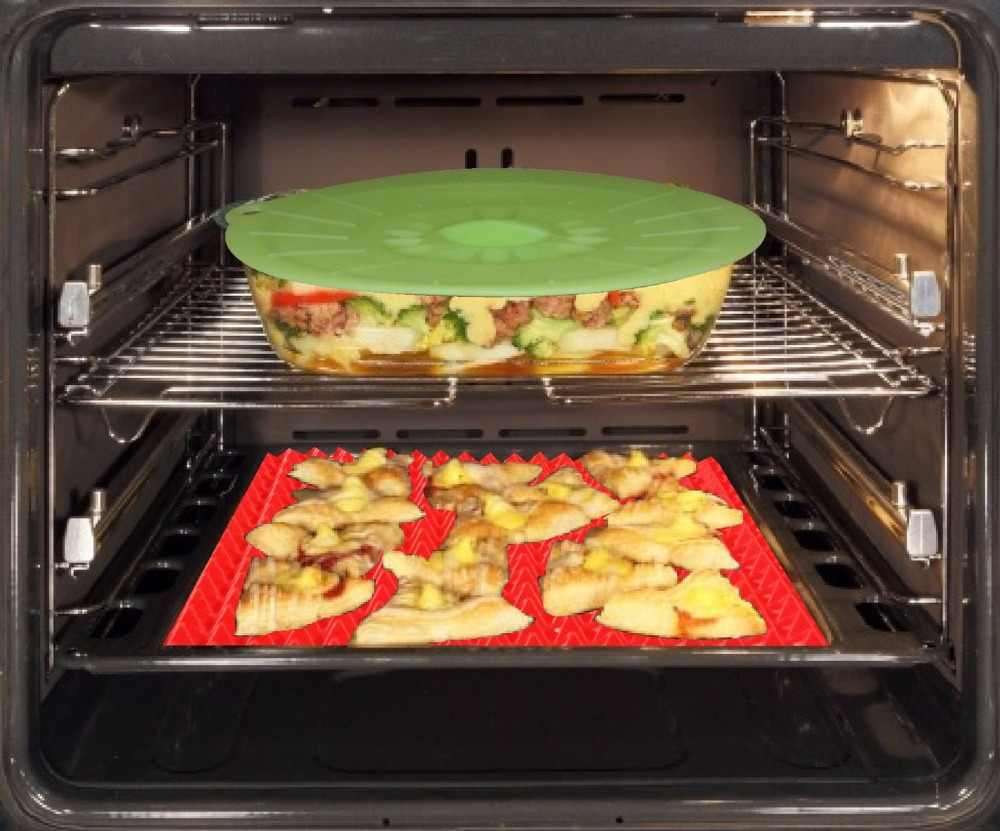 WALFOS מזון כיתה פירמידת בישול פאן Nonstick סיליקון אפיית Mat רפידות קל שיטת עבור תנור אפיית מגש גיליון מטבח כלים