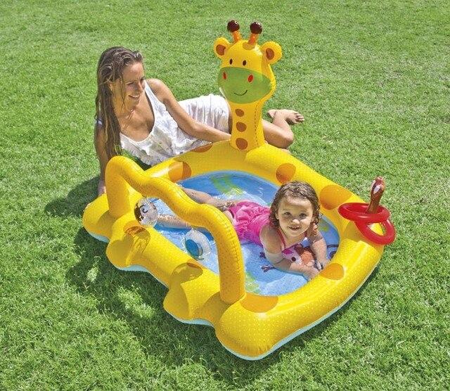2016 Inflatable swimming pool Baby deer wading pool bathtub sand pool ocean ball pool Baby Tubs