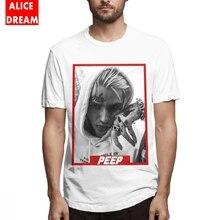 100% Cotton Hip hop T shirt Boy Lil Peep Tee Shirt Soft Round Collar Plus Size Homme T-shirt