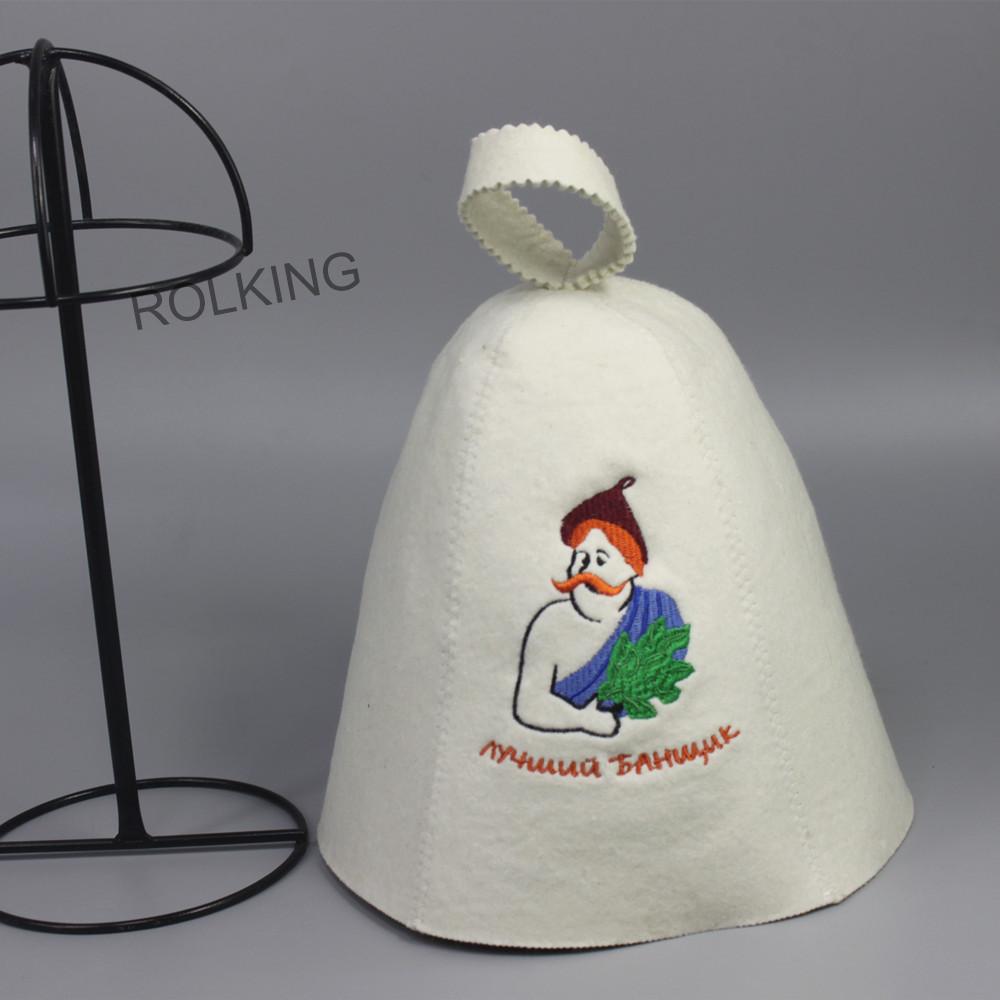 sombrero para sauna ruso banya bao de la casa blanco clsico olla