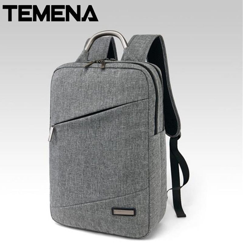 Unisex Light Slim Minimalist Fashion Backpack Women 14 15 Laptop travel bag case school mochila  Backpack ABP331 slim xl backpack