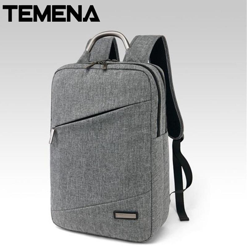 Unisex Light Slim Minimalist Fashion Backpack Women 14 Laptop travel bag case school mochila  Backpack ABP331 slim xl backpack