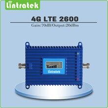 Ganancia 70dB 4G LTE 2600 Mhz Repetidor Móvil de la Señal 4G LTE 2600 Mhz (FDD Band 7) Amplificador de Señal de Teléfono celular/Amplificador con la exhibición del Lcd
