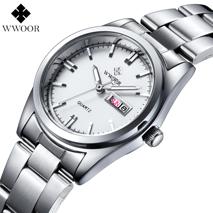 Fashion Casual Women s Quartz Watch Date Day Waterproof Stainless Steel Ladies Dress Watches Relogio Feminino