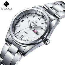 Fashion Casual Women s Quartz Watch Date Day Waterproof Stainless Steel Ladies Dress Watches Relogio Feminino