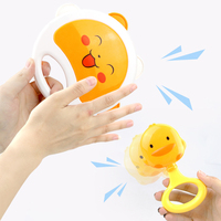 Leuke Baby Rammelaars Hand Hold Jingle Schudden Bel Speelgoed Cartoon Bijtring Muziek Greep Mobiles Zachte Crib Pasgeboren Baby 0- 12 maanden 5