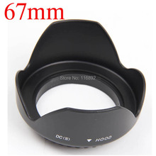 10pcs/lot 67mm Flower LENS HOOD for Canon Nikon for Sony lens