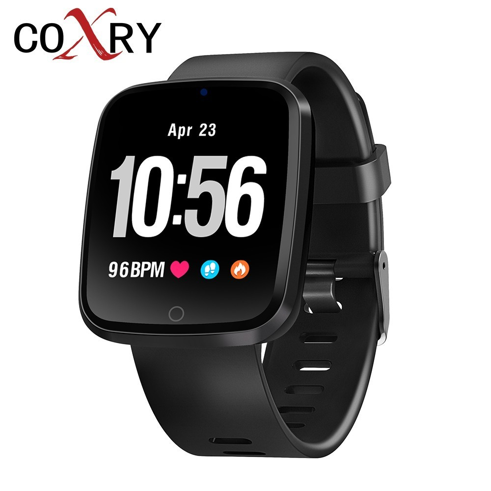 COXRY Color Screen Smart Watch Sport Men Watches Blood Pressure Pedometer Tracker Digital Women Smartwatch For IOS Android
