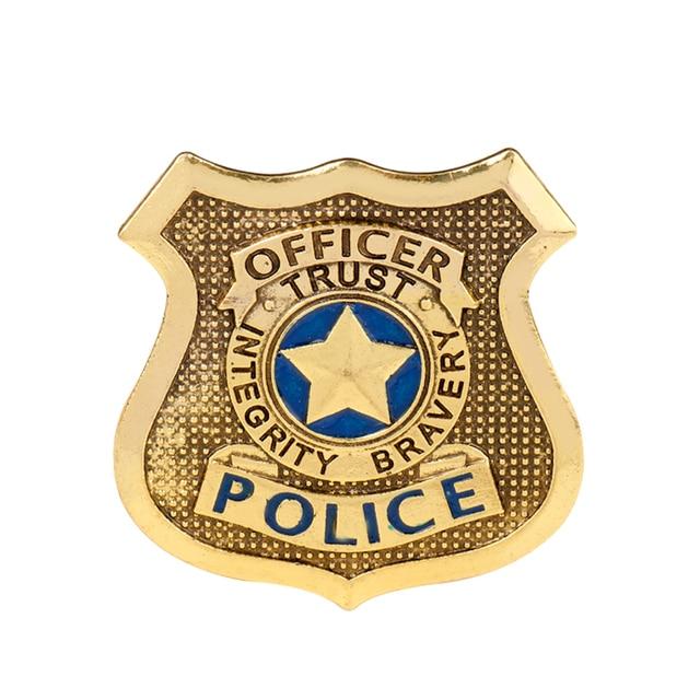 MQCHUN film Zootopia broches Cosplay lapin Judy Hopps officier de Police Badge accessoire broche mode zooopole Sylvilagus broche