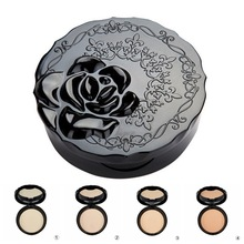 Face Makeup Oil Control Concealer Palette Maquiagem Dry Pressed Powder Bronzers Whitening Finishing Powder Set 6 Colors Lasting