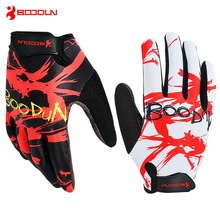 BOODUN Summer Breathable Full Finger Cycling Gloves MTB Road Bike Bicycle Outdoor Sport Fitness Accessories