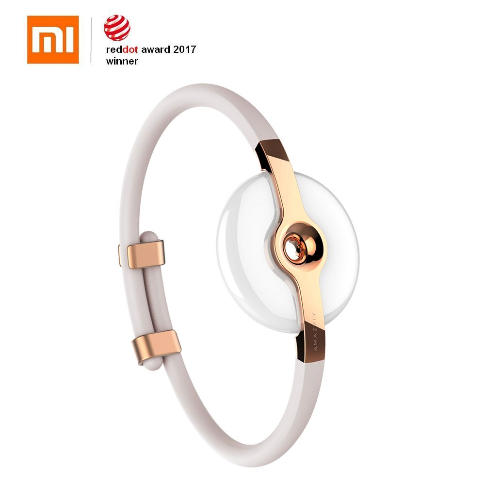 Xiaomi Moonbeam Sport Smart Bracelet Sleep Calories Fitness Tracker Equator band Waterproof Ceramic Wireless Charging for phone image