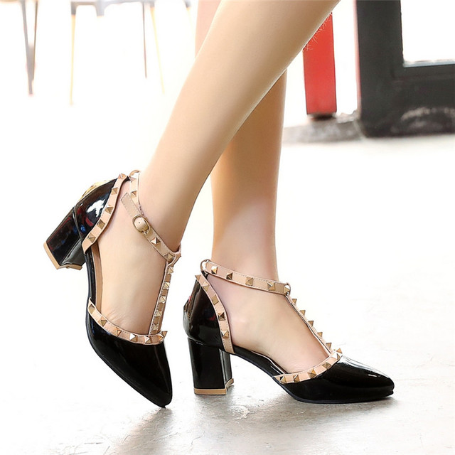 High Heels Ladies High Heel Shoes Women Pumps Stiletto Woman Party Wedding Shoes Kitten Heels Plus Size 34 - 40 41 42 43