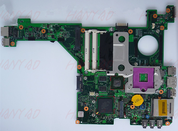 For HP DV3000 DV3500 laptop motherboard 496097-001 PM45 DDR2 Free Shipping 100% test okFor HP DV3000 DV3500 laptop motherboard 496097-001 PM45 DDR2 Free Shipping 100% test ok