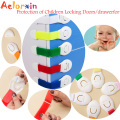 Aelorxin Child Lock Protection of Children Locking Doors/drawerfor Children's Safety Kids Safety Plastic Lock for Child