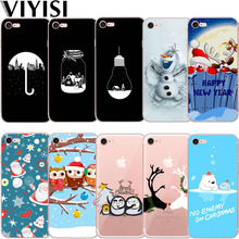 Santa Claus Elk For Apple iPhone X IPhone 7 case 8 6 6S Plus Cover 5 5S XS MAX XR Phone Case Soft TPU Silicone Back Coque Shell rugged tpu case for iphone 11 pro max case iphone x xs xr 6 6s plus 7 plus 8 plus iphone11 11pro cloth back cover elk deer shell