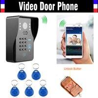 New Wifi Video Door Phone Doorbell Wireless Intercom Global Video Door Phone Support IOS Android For