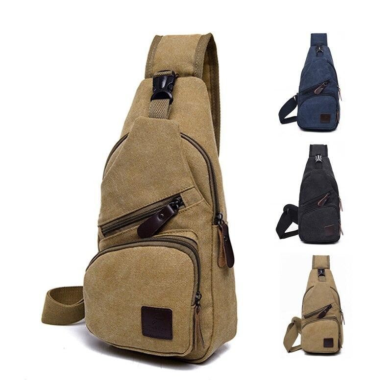 Male Canvas Shoulder Bags Crossbody Bags Men Anti Theft Chest Bag School Summer Short Trip Messengers Bag Mochila Highly Polished Home